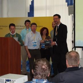 Prof. Peter Neumann erhält IBRA award