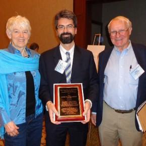 Dr. Francesco Origgi erhält CL Davis Foundation Journal award