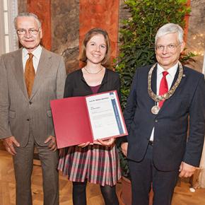Professor Dr. Walther Bolz-Preis geht an Dr. Sara Hintze