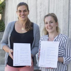 Gewinnerinnen des Young Scientist Paper Award 2018